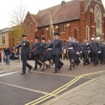 1216 Sqn parading through Eastleigh last November