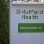 Wessex Hospital sign