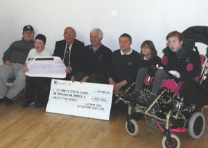 Botley Park Golfers help local special needs children