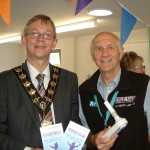 Eastleigh Mayor, Cllr Rupert Kyrle with Paul Kelly
