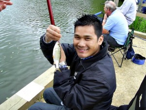 Lakeside anglers 'Help for Heroes'