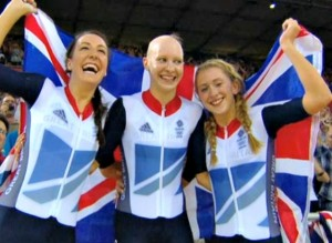Eastleigh gets another Olympic Gold Medal winner!