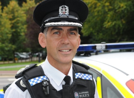 Andy Marsh Hampshire's new Chief Constable