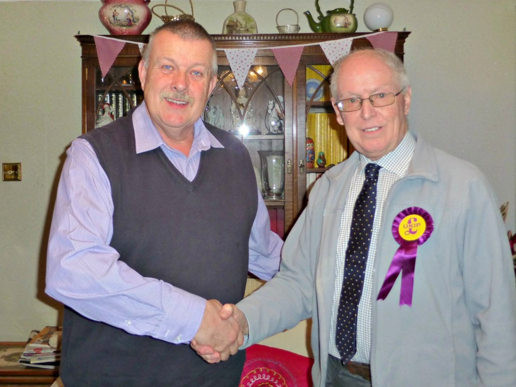 Tory Candidate defects to Ukip