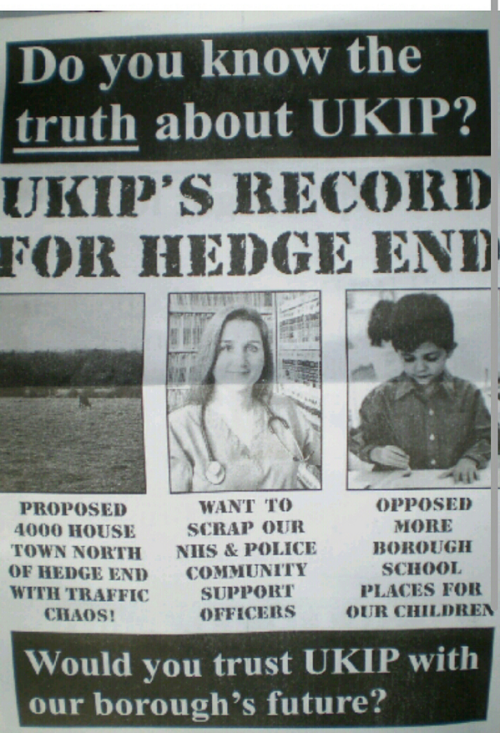 Ukip V Lib Dems in war of words