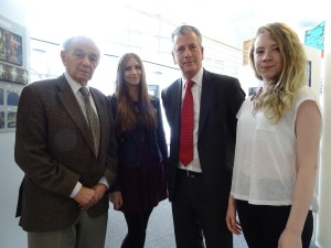 Holocaust Survivor visits Barton Peveril