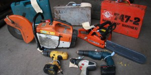 Yet more power tool thefts