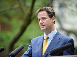 Clegg: No Lefties thank you