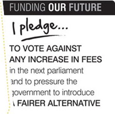 Huhne to Renege on Fees Pledge?