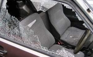 Windscreens smashed in more yob mayhem