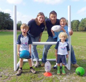 Rugbytots comes to Fleming Park