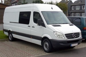 White van men in theft warning