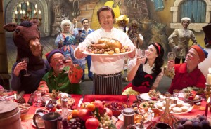 Jamie Oliver bows out in style…