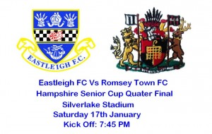 Spitfires take on Romsey Town in The Hampshire Senior Cup