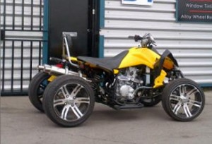 Thieves Steal Distinctive Quad Bike from Stoneham Lane